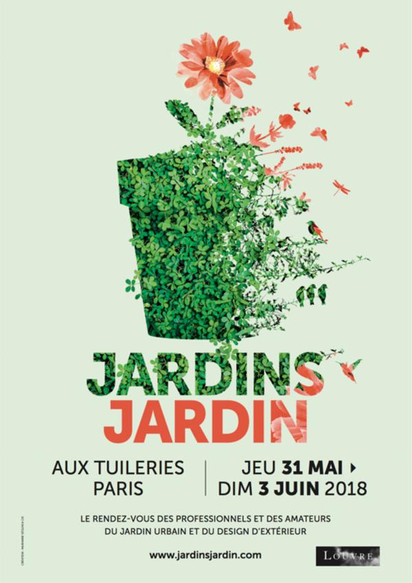 Affiche Jardins Jardin Tuileries 2019