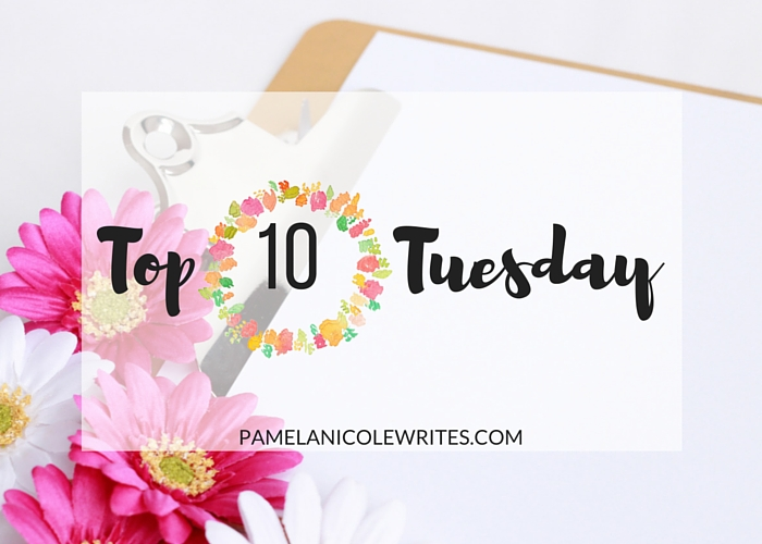 Top 10 Tuesday: My Top 10 Bookworm Delights