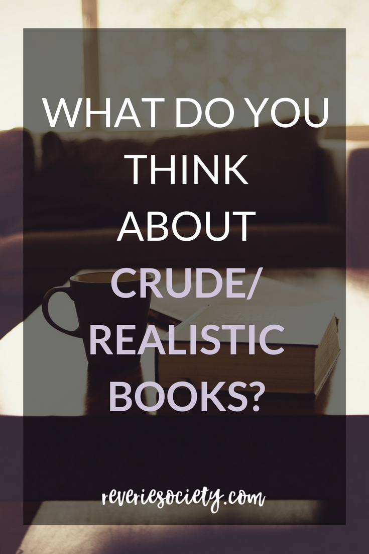 What Do You Think About Crude Books?