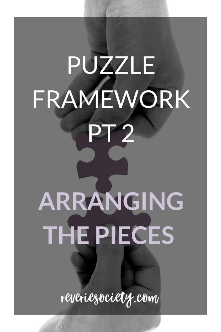 The Puzzle Framework Part 2: Arranging the Pieces