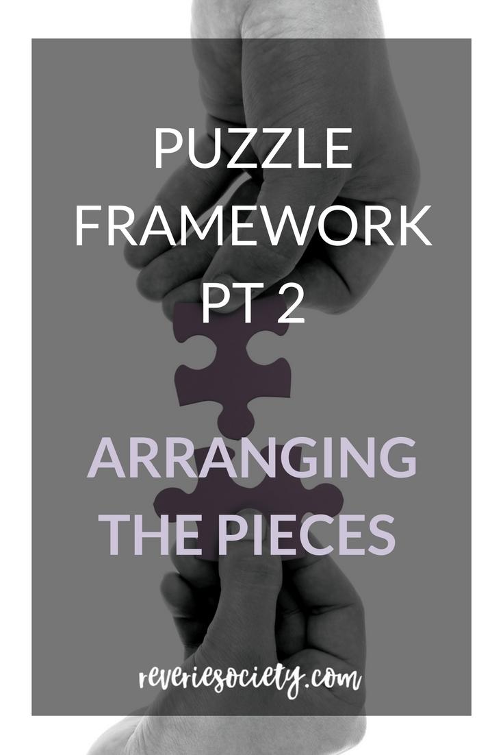 The Puzzle Framework Part 2: Arranging the Pieces