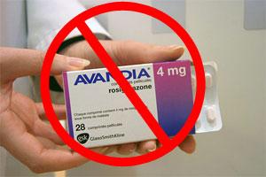Reverse Type 2 Diabetes. The Genuine Blood Sugar Solution.  Image of avandia drug
