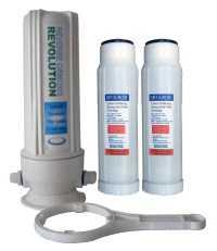 Inline Garden Hose Hard Water Filter