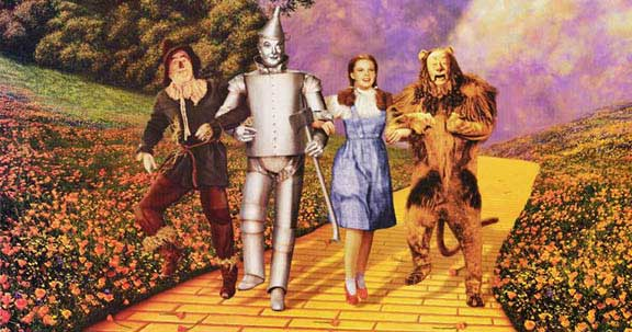 Image result for the wonderful wizard of oz and the yellow brick road