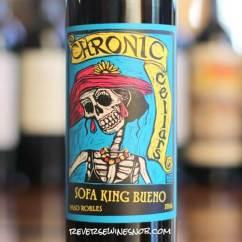 Sofa King Joke Baby Blue Crushed Velvet Chronic Cellars Bueno - Just Right • Reverse ...