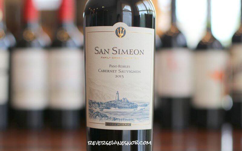San Simeon Cabernet Sauvignon Big Rich And Decadent