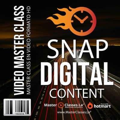 programa snap digital content by reverso academy cursos master classes online