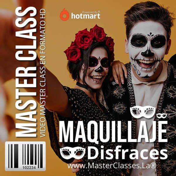 Maquillaje de Disfraces by reverso academy cursos online clases