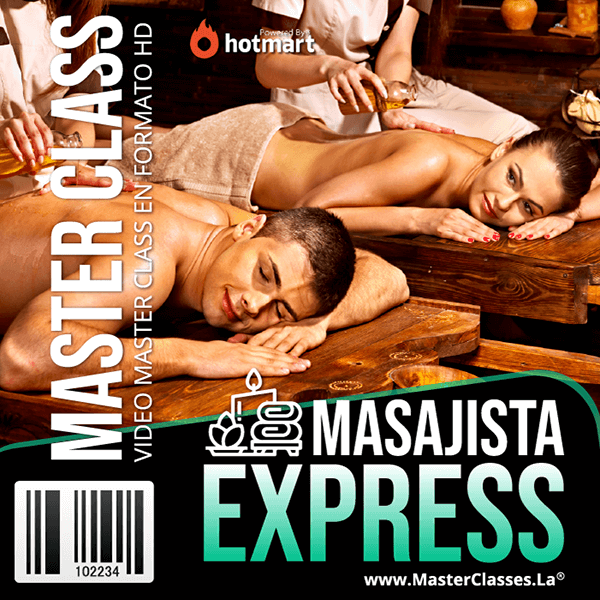 Masajista Express by reverso academy cursos clases online