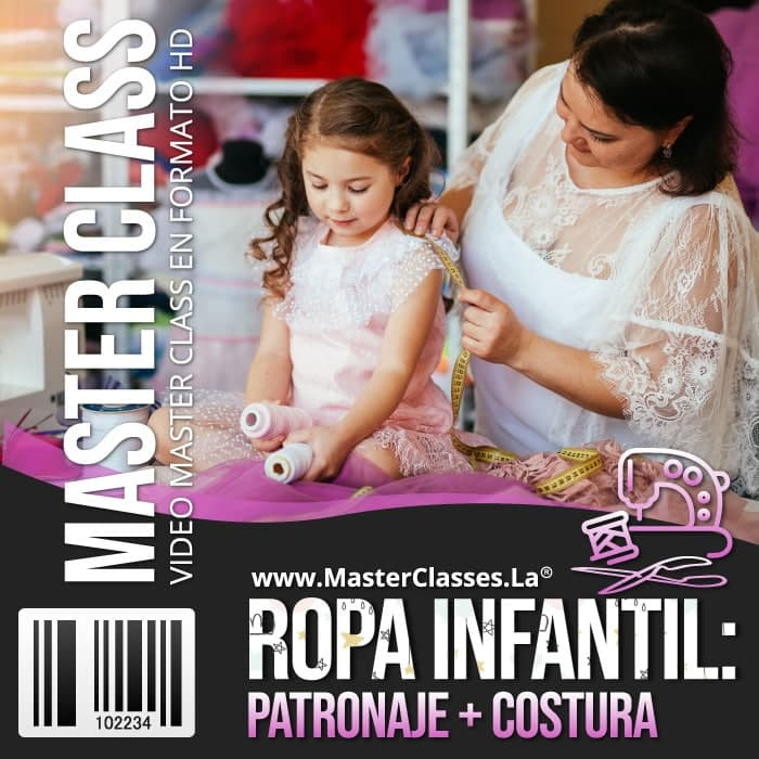 Patronaje y Costura Ropa Infantil by reverso academy cursos clases online