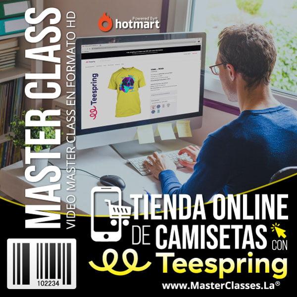 Tienda Online de Camisetas con Teespring by reverso academy cursos clases online