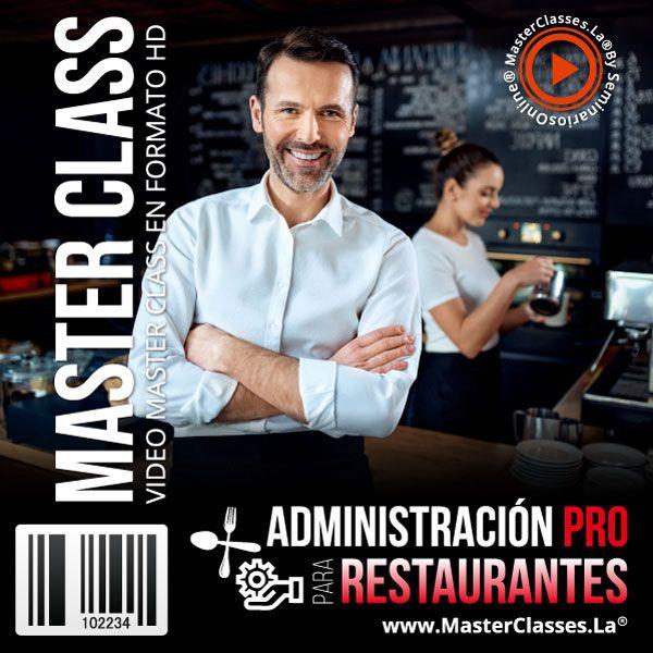 Administración Pro para restaurantes by reverso academy cursos online clases
