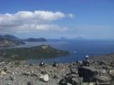 Salina, Panaréa et Stromboli dans le lointain