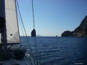 passage entre Vulcano et Lipari