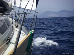navigation vers Stromboli