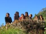 Népal, enfants de Tser Tsapa