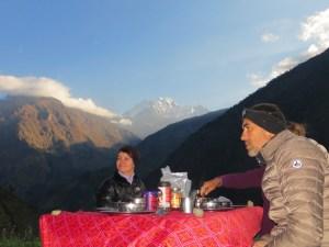Népal , Rolwaling, Gaurishankar