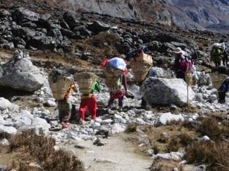 Népal, Rolwaling, vers Na