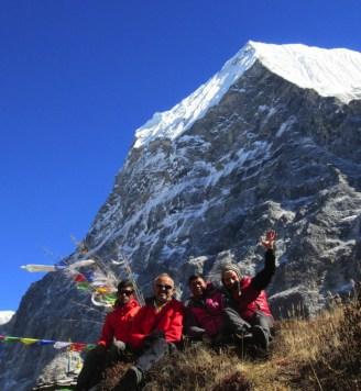 Népal, Rolwaling, Tsoboje (6689m)
