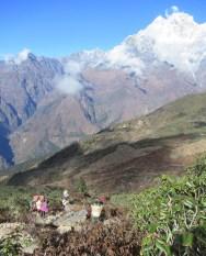 Népal, Rolwaling, Tashinam
