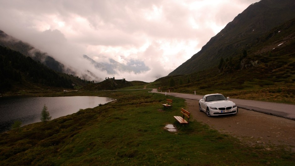 Obersee na hranicích s Itálií