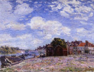 Aflred Sisley: Le Havre.  (Repro: VDH-Museum)
