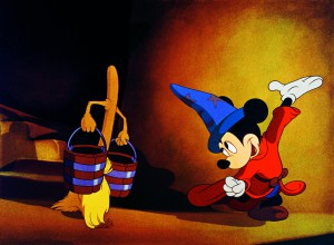"""Fantasia"": Mickeys Kampf mit dem Besen. Bild: bb-promotion"