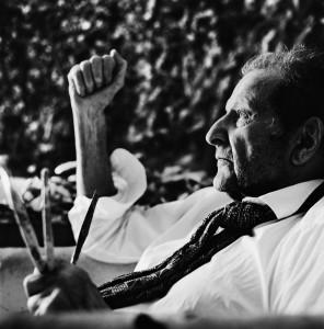 Anton Corbijn: Porträt des Malers Lucian Freud (Fotografie, London 2008 - © Anton Corbijn)