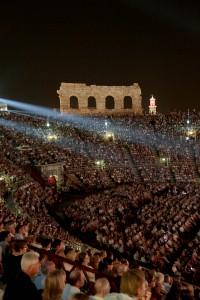 Die Arena di Verona. Ennevi Foto, per gentile concessione della Fondazione Arena di Verona