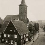 Die Johanneskirche Voerde um 1930.