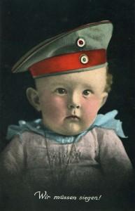 """""""Wir müssen siegen!"""" (Bildpostkarte, um 1915 - Stadtarchiv Hagen)"""