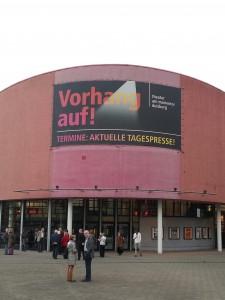 Duisburg: das Theater am Marientor, bis Ende 2015 Spielstätte der Duisburger Philharmoniker. Foto: Werner Häußner