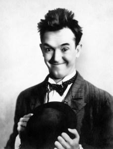 Stan Laurel auf einem historischen Foto, um 1920.