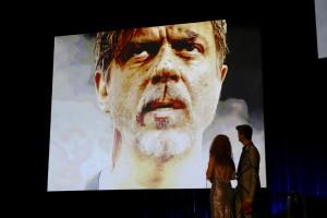 """""""Wetten dass"""" war gestern: Für Bernhard Lotz (Sebastian Kuschmann) geht es um alles (Foto: Birgit Hupfeld/Schauspiel Dortmund)"""