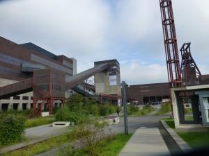 Panorama vom Gelände der Essener Zeche Zollverein, auf dem sich das Ruhr Museum befindet. (Foto: Bernd Berke)
