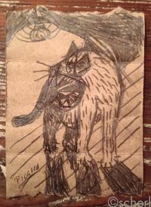»Schorsch (nach Picasso)« Scherl, 2015