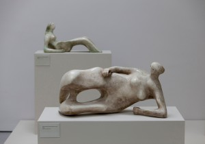 Henry Moore: Working Model for Reclining Figure Bone Skirt, 1977. Foto: Henry Moore Foundation
