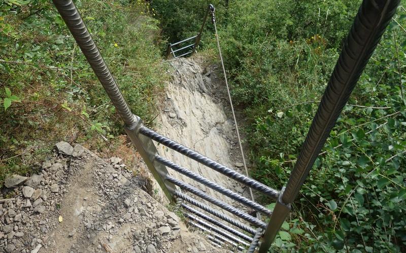Klettersteig Mittelrhein : Revier: mittelrhein klettersteig boppard schöne tour um die ecke