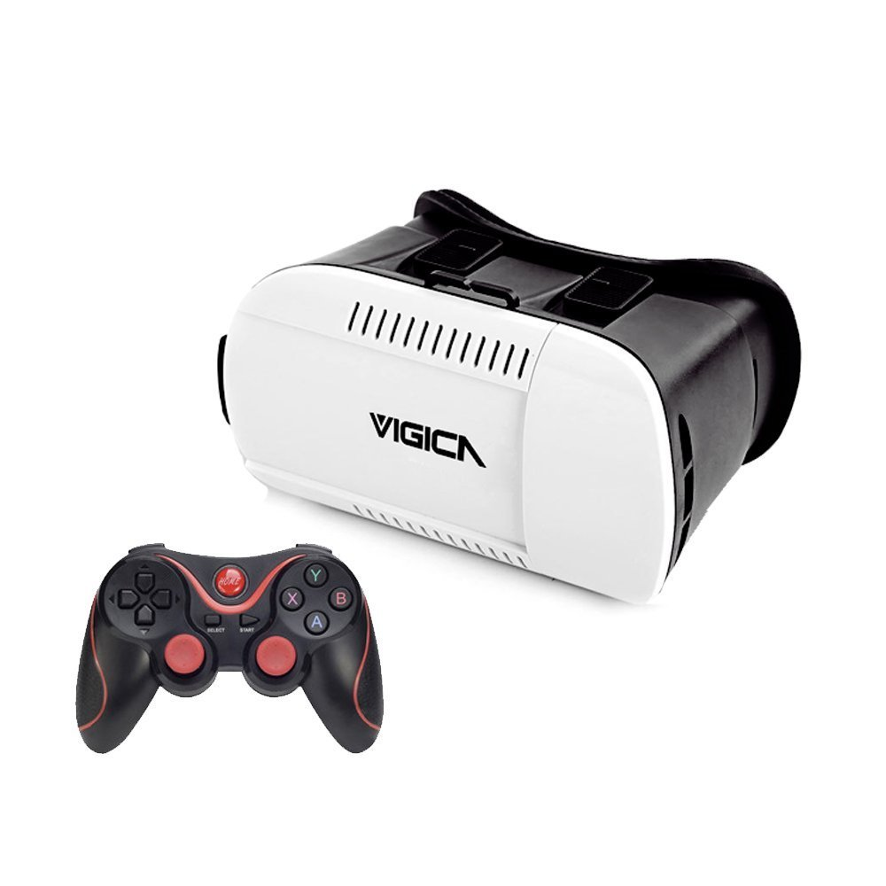 Vigica Gafas 3D VR2 – Pack de gafas y gamepad