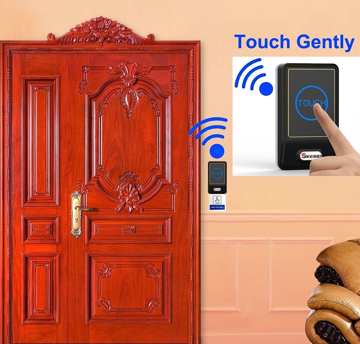 Safebao Wireless Doorbell Timbre Campana de Inalámbrico