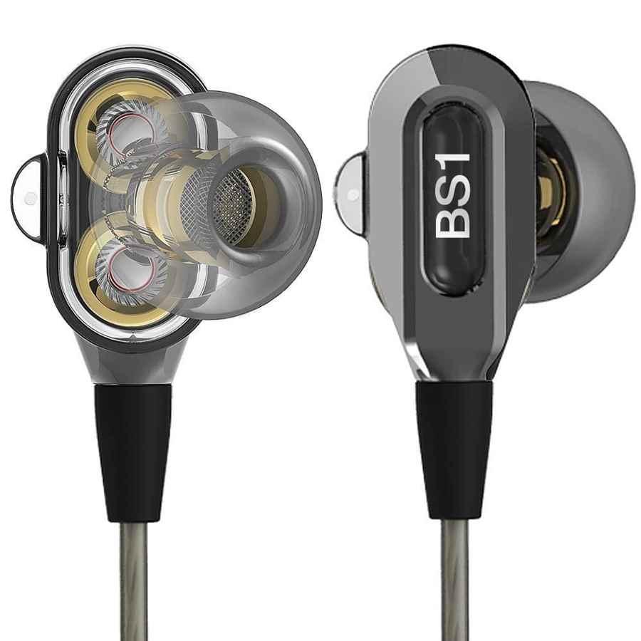 Actionpie vjjb-v1s alta resolución Heavy Bass auriculares in-ear con micrófono para smartphones
