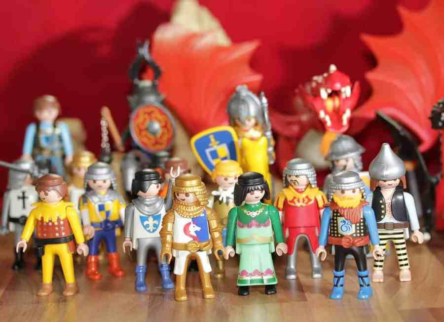 Imagem de mini figuras Playmobil do tema History.