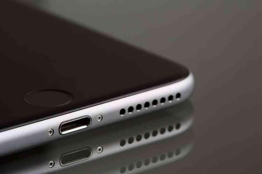 Imagem de um iPhone.