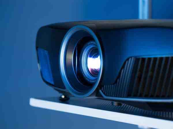 Imagem de um projetor.