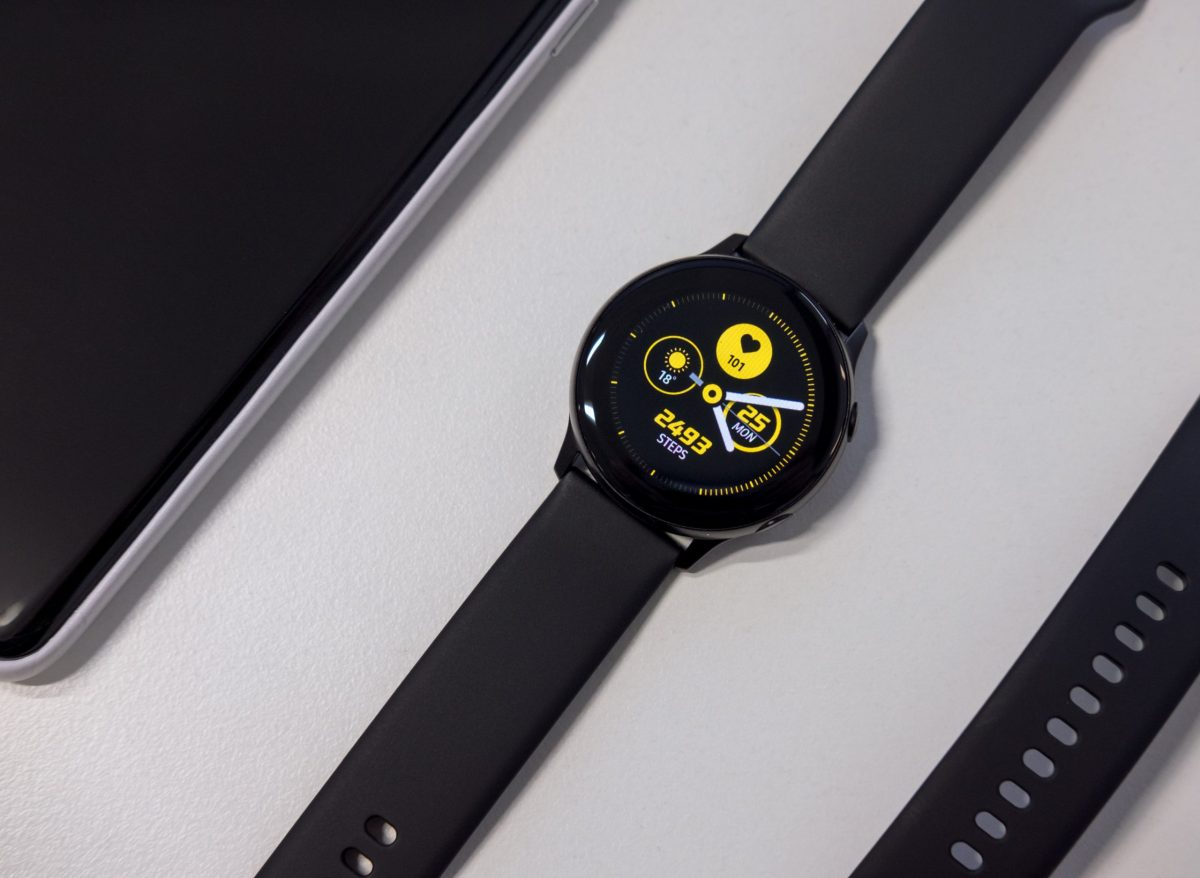Image of a Samsung smartwatch.