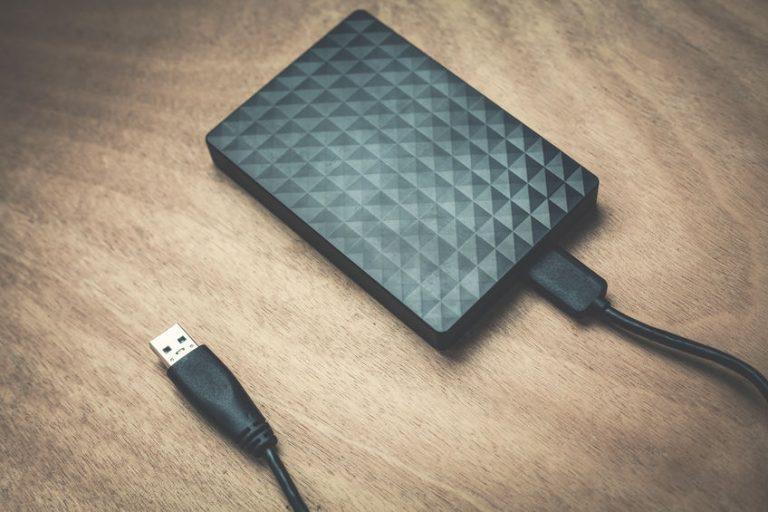 Un hard disk esterno