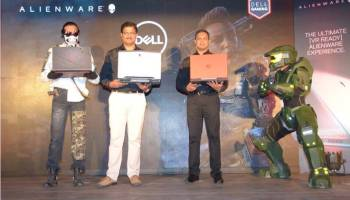 L to R: P. Krishnakumar, Vice President, Consumer & Small Business, Dell, India and Alen Joe Jose, Director - Product Marketing, Consumer & Small Business, Dell, India at the launch of Dell Gaming portfolio in India