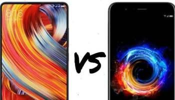 Mi MIX 2 vs Honor 8 Pro Compared