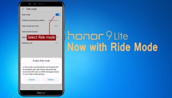 Honor 9 Lite gets Ride Mode via OTA update
