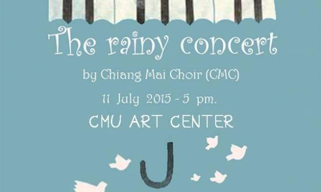 ชมฟรี คอนเสิร์ตฤดูฝนจากคณะนักร้องประสานเสียงเชียงใหม่